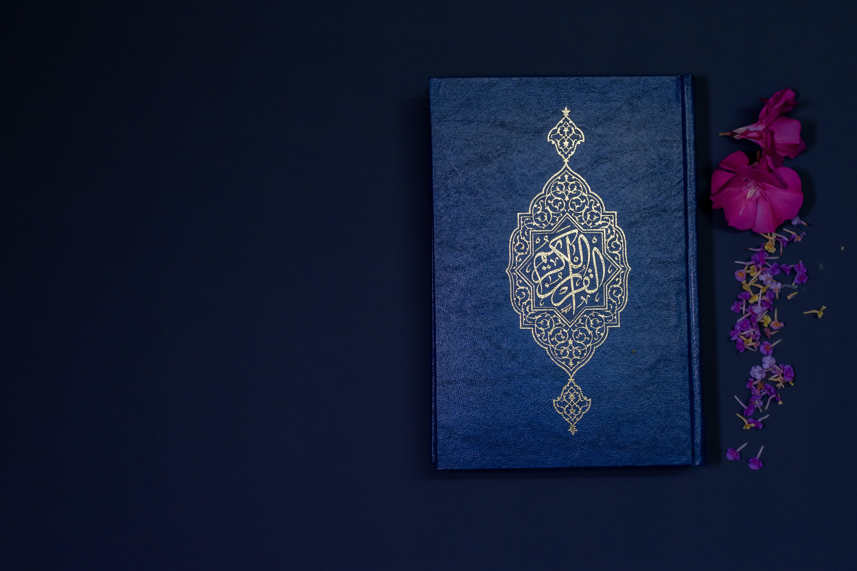 Quran Book 5k Wallpaper Hdwallpaper Desktop Quran Book Quran Wallpaper Islamic Wallpaper