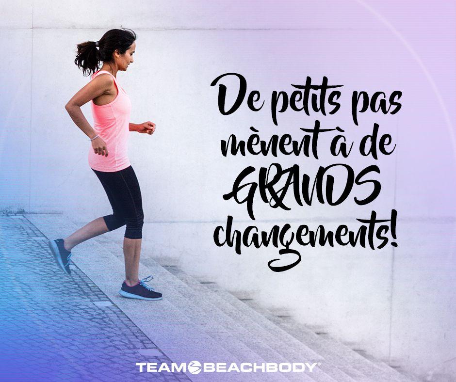 Top Un pas à la fois! www.supercardio.ca | Citation Entrainement  TD08