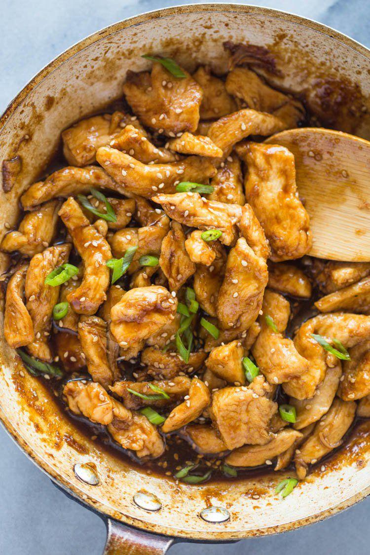 20 Minute Healthy Sesame Chicken | Recipe | Pinterest | Healthy ...