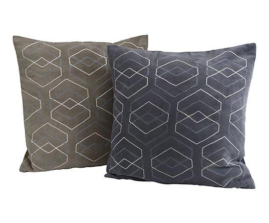 """Komplet 2 poduszek dekoracyjnych """"Diamon"""""""