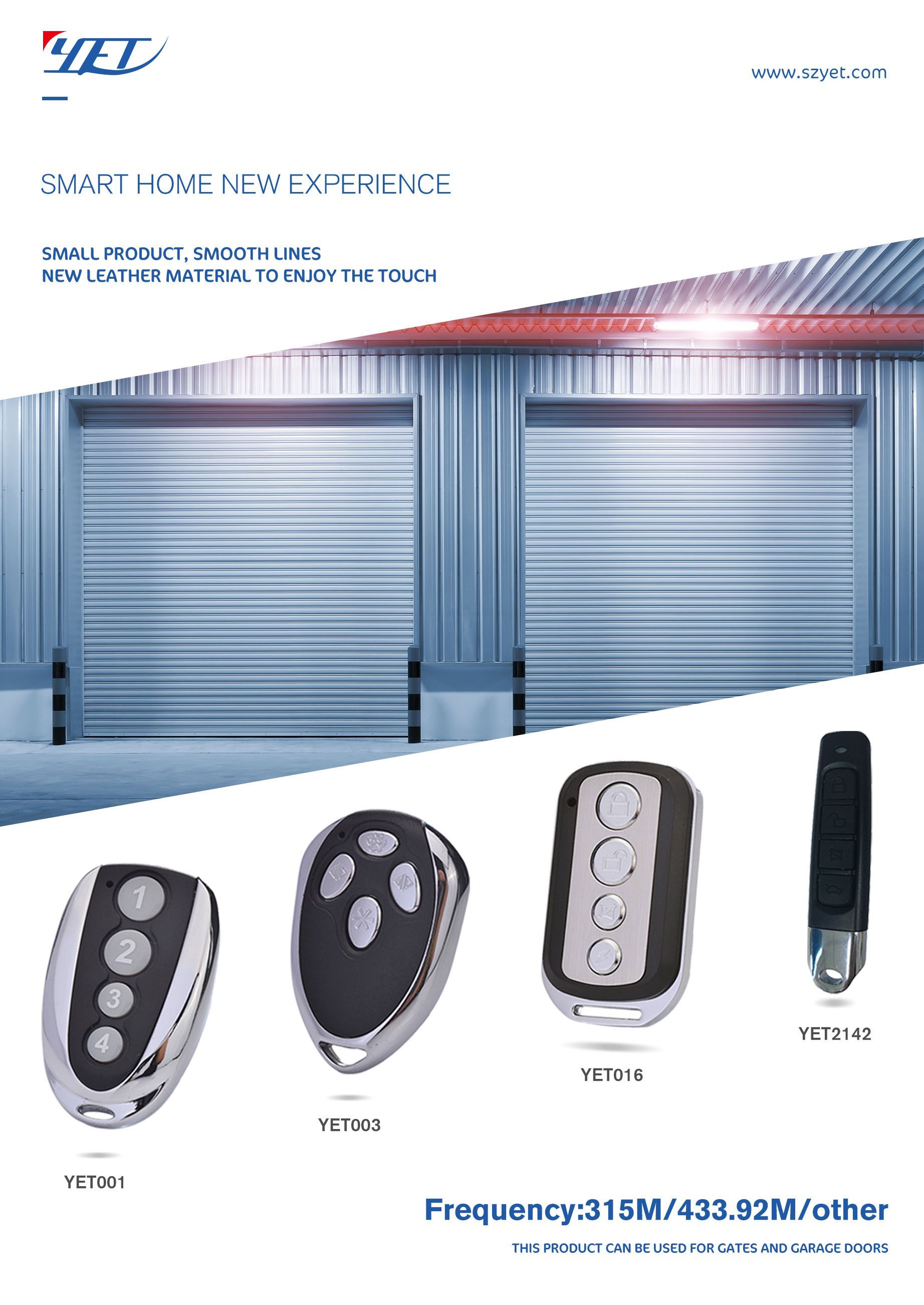 Garage Door Dedicated Remote Controls The Number Of Buttons And