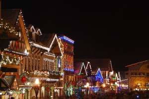 Christmas Lighting Festival Leavenworth Wa Leavenworth Washington Leavenworth Washington State