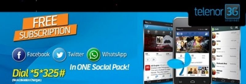 Telenor Free 3g Social Bundle Offer And Packages Detail Free
