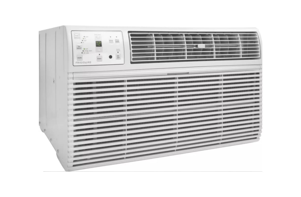 Frigidaire Ffta1033s2 10000 Btu 230 V Through The Wall Air Conditioner With Eff Casement Air Conditioner Casement Window Air Conditioner Window Air Conditioner