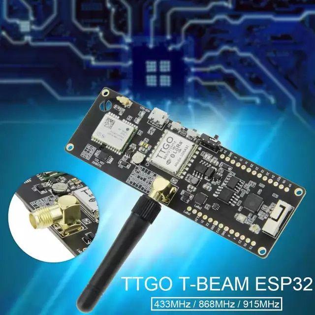 TTGO T-Beam ESP32 433 868 915Mhz WiFi Wireless Bluetooth Module GPS