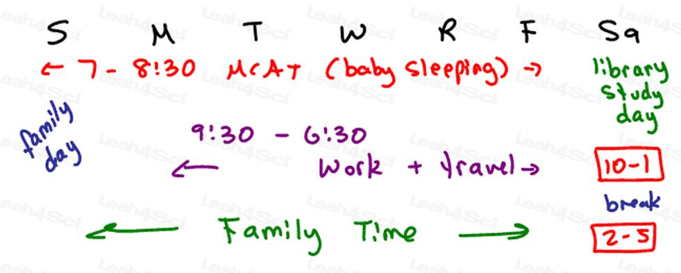 Mcat Sample  Month Study Schedule  Pre Curing The World Med