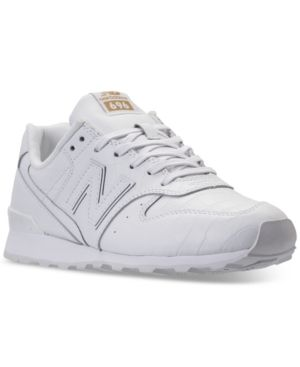 New Balance Women's 696 Leather Casual