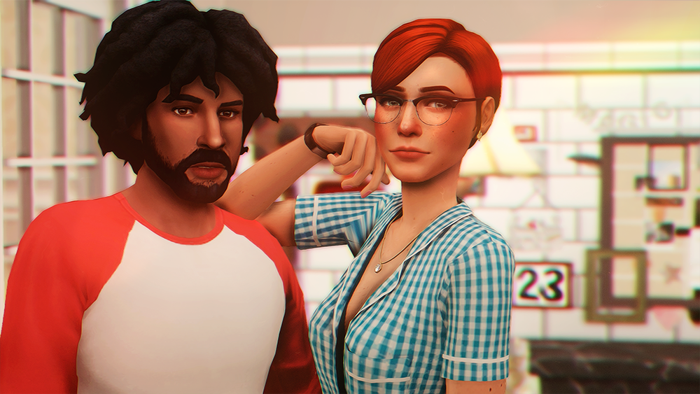 Bob and Eliza Pancakes by okruee | Sims 4 Models | Sims cc