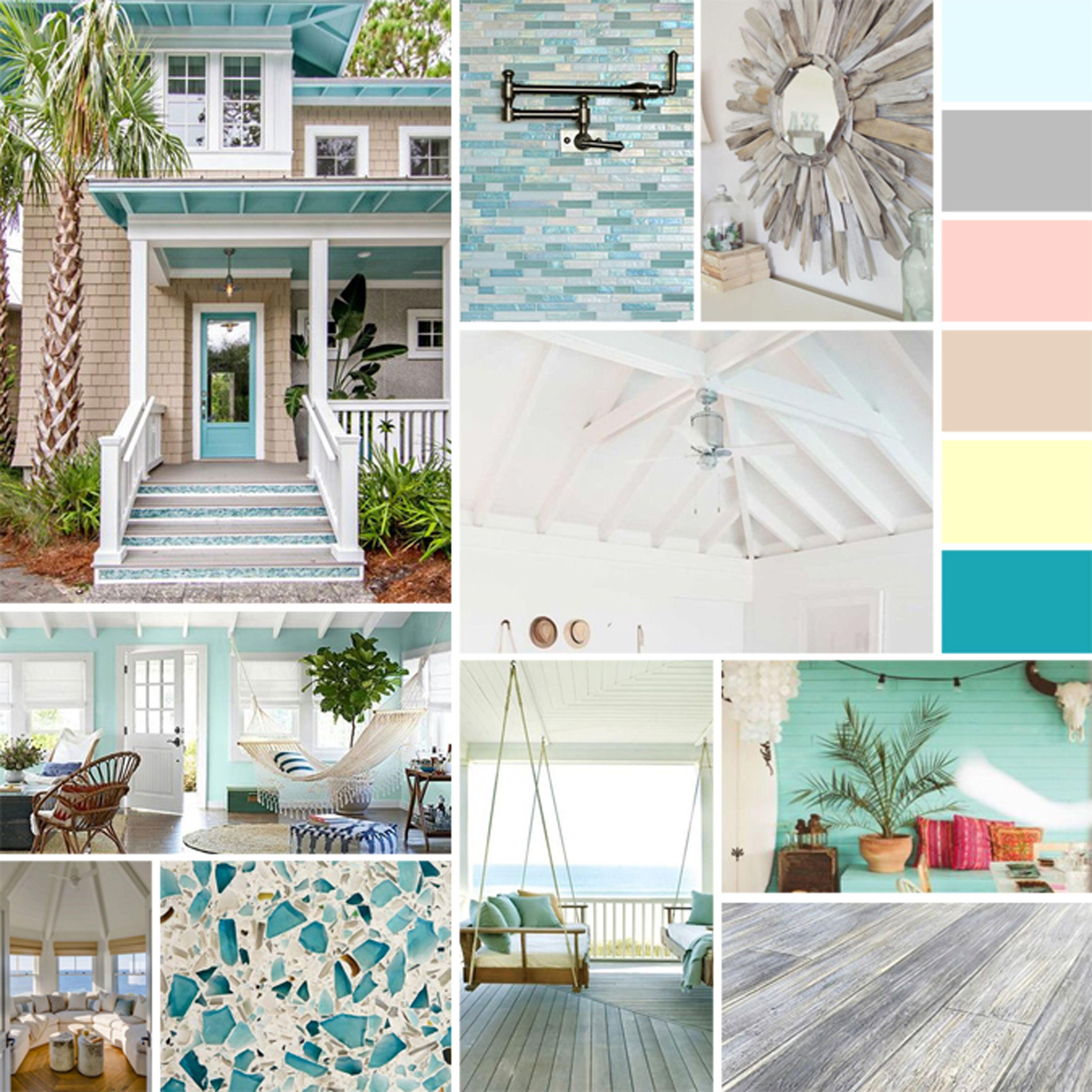 7 Swoon Worthy Beach Homes + Decor Inspo