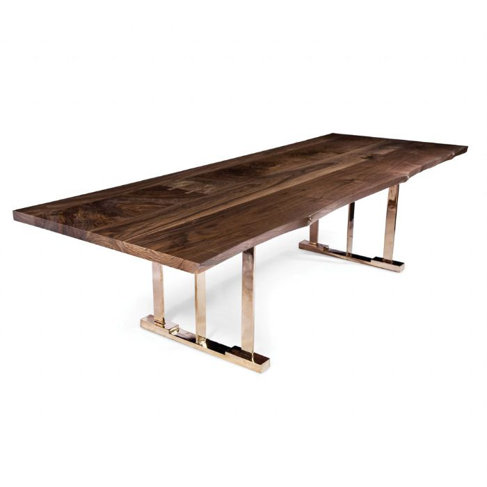 Live Edge Collage Table from Hudson - Available through Minor Details Interior Design.  http://minordetailsdesign.com/#home