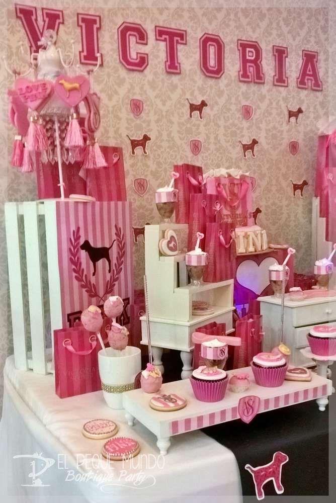 Victoria Secret Birthday Party Ideas in 2019 | Birthday ...