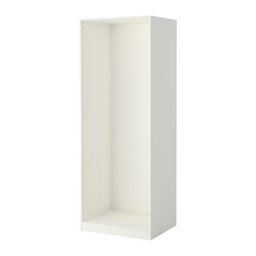 pax caisson d 39 armoire blanc 75x58x201 cm ikea 6eme. Black Bedroom Furniture Sets. Home Design Ideas