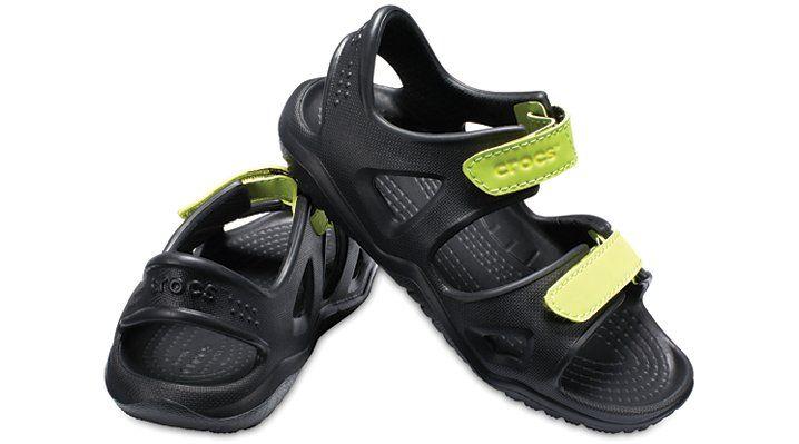 Color : Gray , Size : 1 M US Little Kid Non-Slip Summer Shoes Kids Boys Open Toe Three Strap Walking Sandals Durable