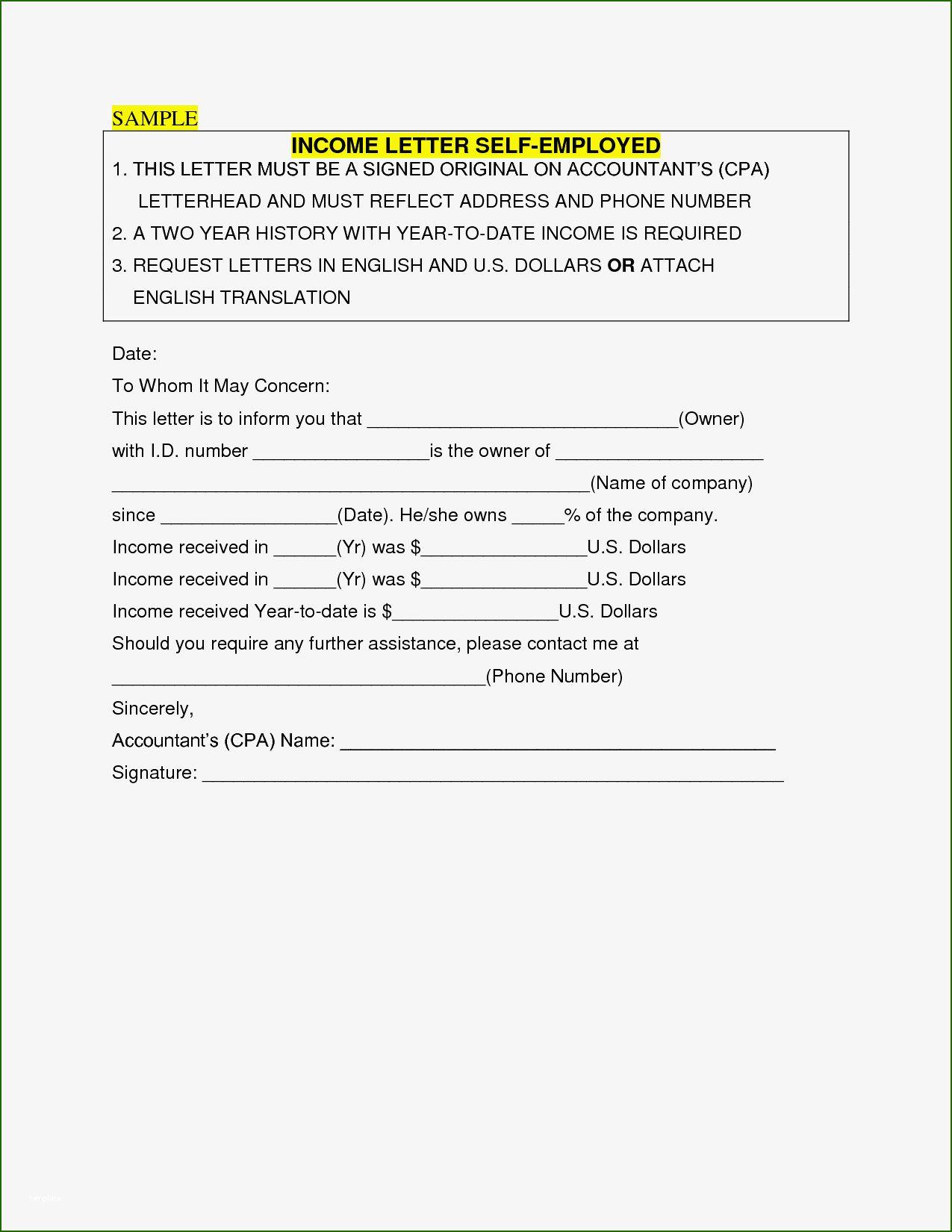 self employed resume template