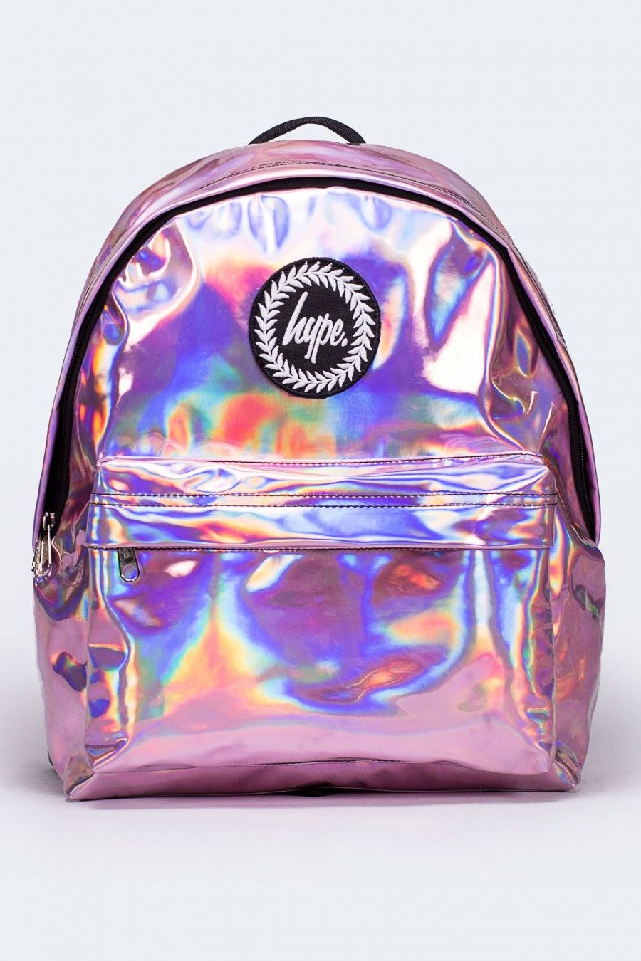 HYPE PINK HOLOGRAPHIC BACKPACK | Girly stuff | Pinterest ...