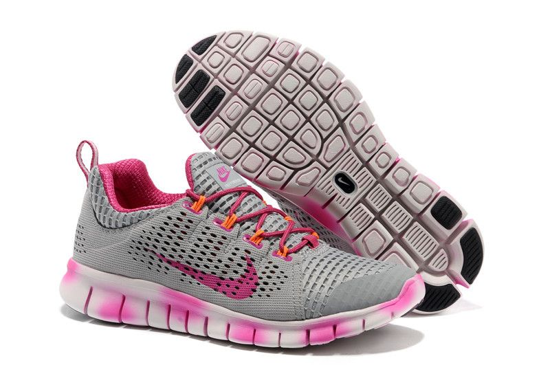 Buy Nike Free Powerline II Womens Cement Grey Laser Pink Gradual Change  555306 061 with best discount.All Nike Free Powerlines+ shoes save up.