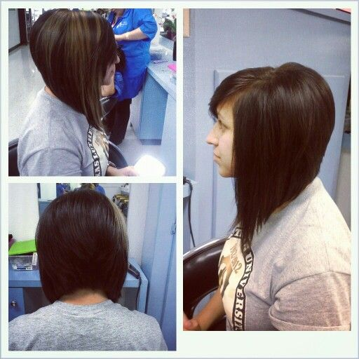 The Back Is A Little Too Much Volume But I Like The Long Swing Bob