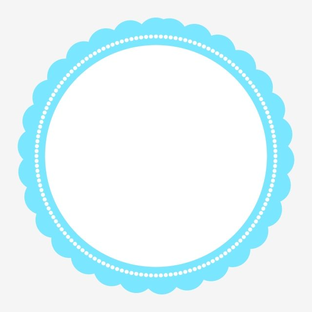 Blue Sticker Design With White Circle Clipart Png Element Party Party Design Party Birthday Png And Vector With Transparent Background For Free Download Sticker Design Circle Clipart Clip Art