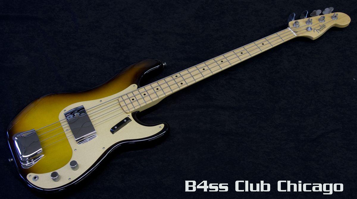 Fender American Vintage 58 P Bass 3 Tone Burst Sold Fender American Vintage Bass Guitar