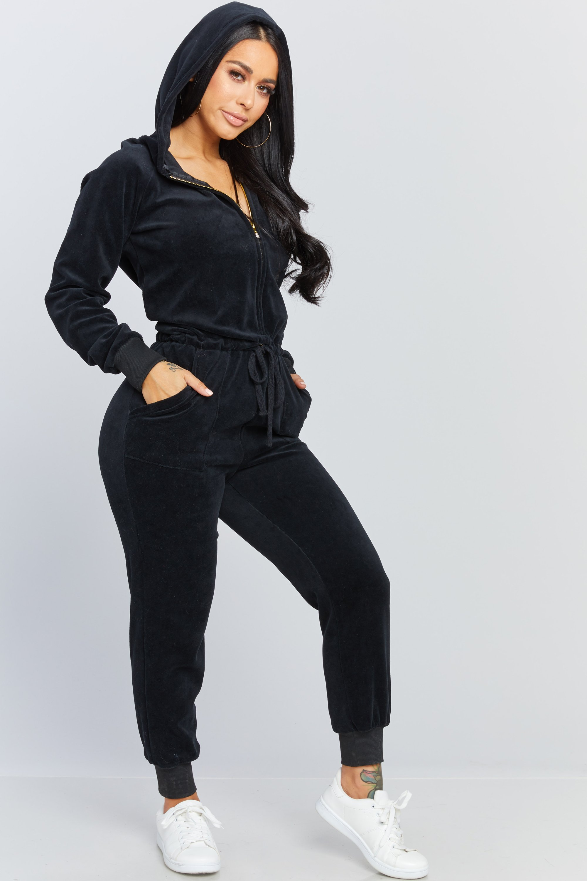 Honeybum Velour Jumpsuit Velour Jumpsuit Velour Outfits Clothes
