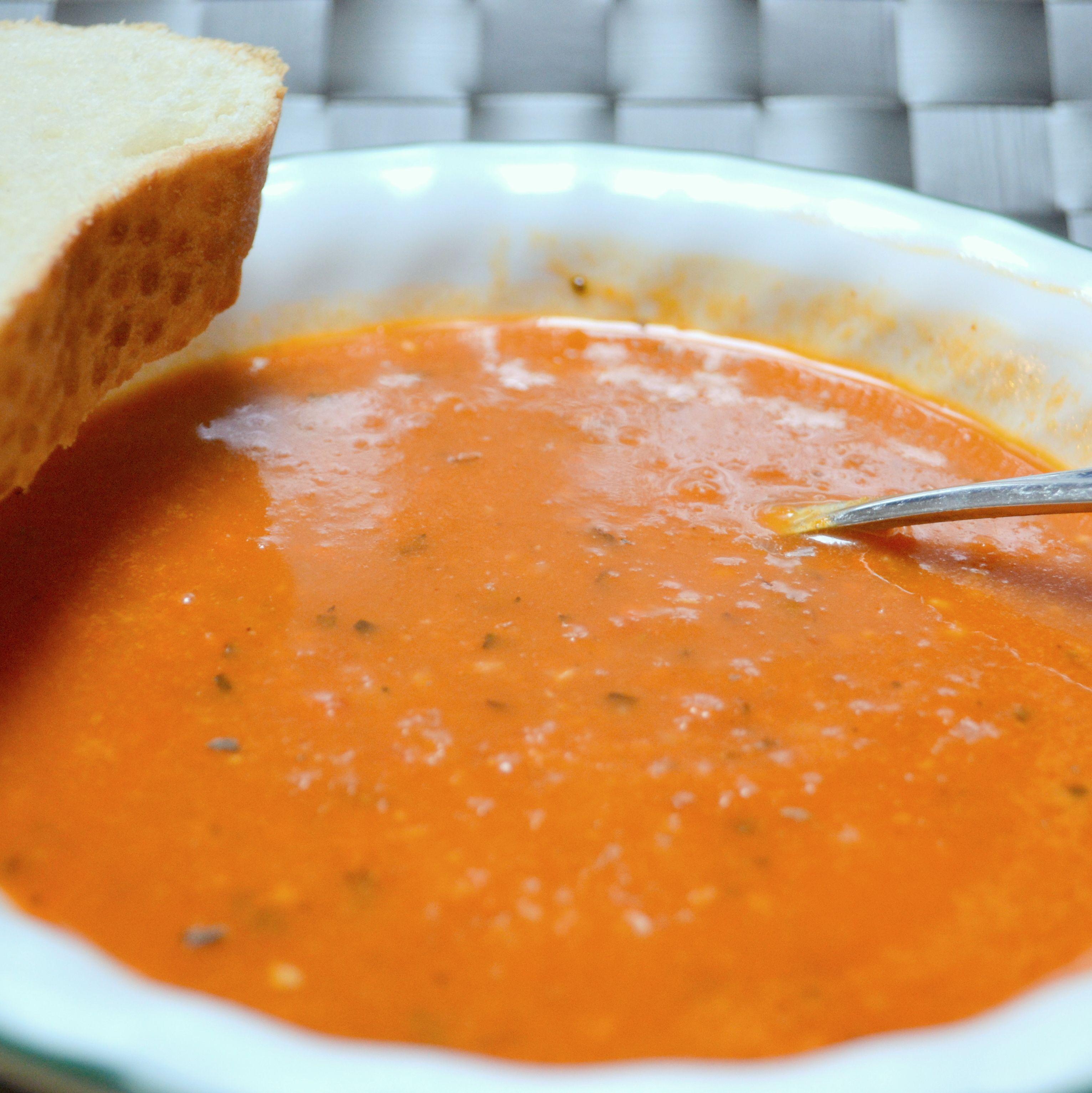 Red Gold Tomato Soup Recipe Slow Cooker Potato Soup Tomato Soup Chili Soup