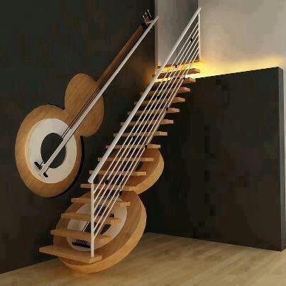 escalera tematica Espacios, muebles, decoracion, tematicas - decoracion de escaleras