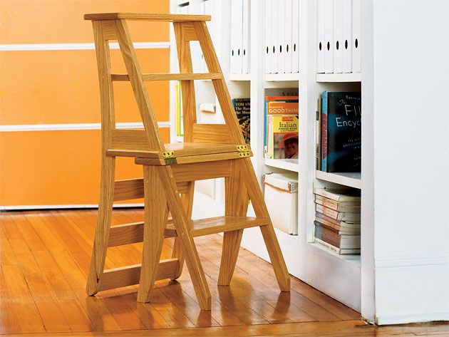 how to build a step stool simple diy woodworking project diy rh pinterest com