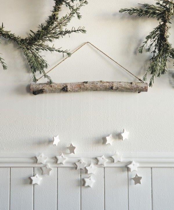 Uberlegen Wandgestaltung  Weihnachtsdeko Aus Papier Selber Machen
