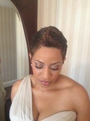 Bridesmaid Wedding Makeup Artist Washington Dc New York African American Bridal Los Angeles