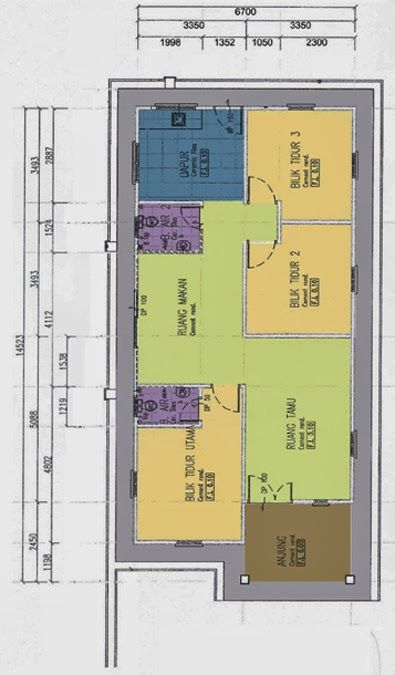 Imej Yang Berkaitan Simple Floor Plans Small House Design Dream House Plans