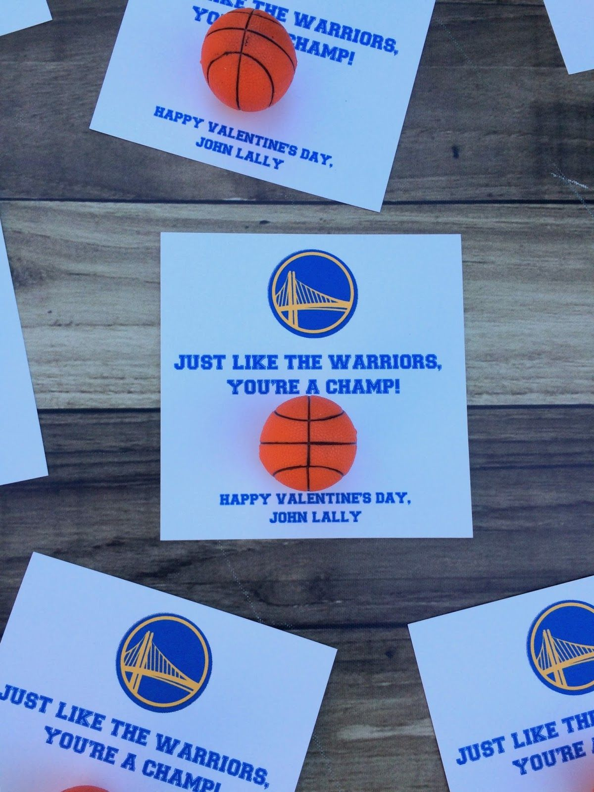Free printable basketball valentines Valentines – Basketball Valentine Cards
