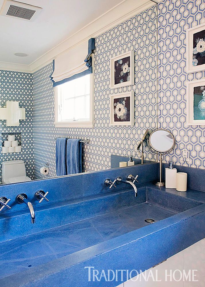 Http://www.traditionalhome.com/design0/decorating Ideas Blue And White  Bathrooms