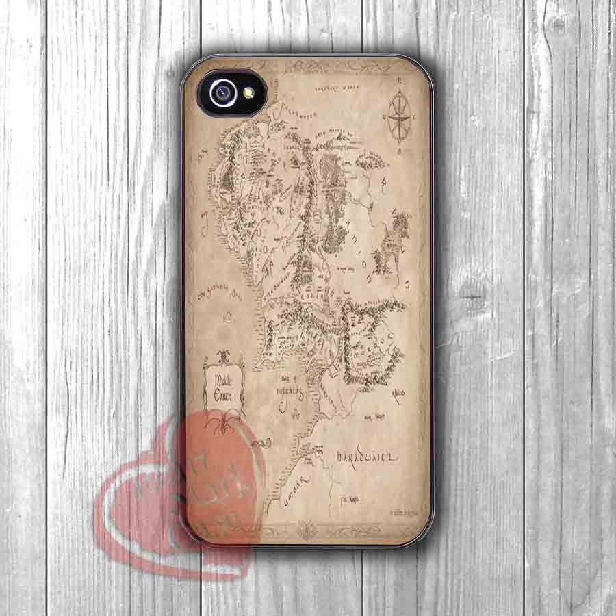 Game of Thrones Middle Earth - dizza for iPhone 6S case, iPhone 5s case, iPhone 6 case, iPhone 4S, Samsung S6 Edge