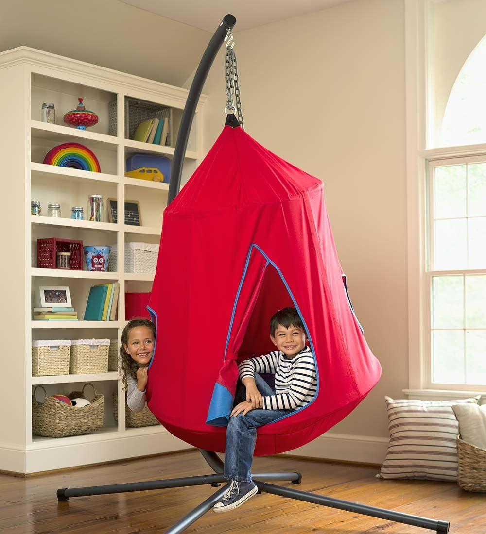 Hugglepod hangout chair kids hanging chair magic cabin