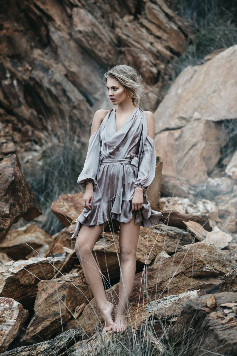 Samantha Wears Dress, $595, By Zimmermann Available At