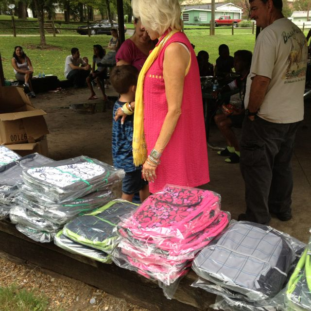 Free backpack give-a-way for West View students