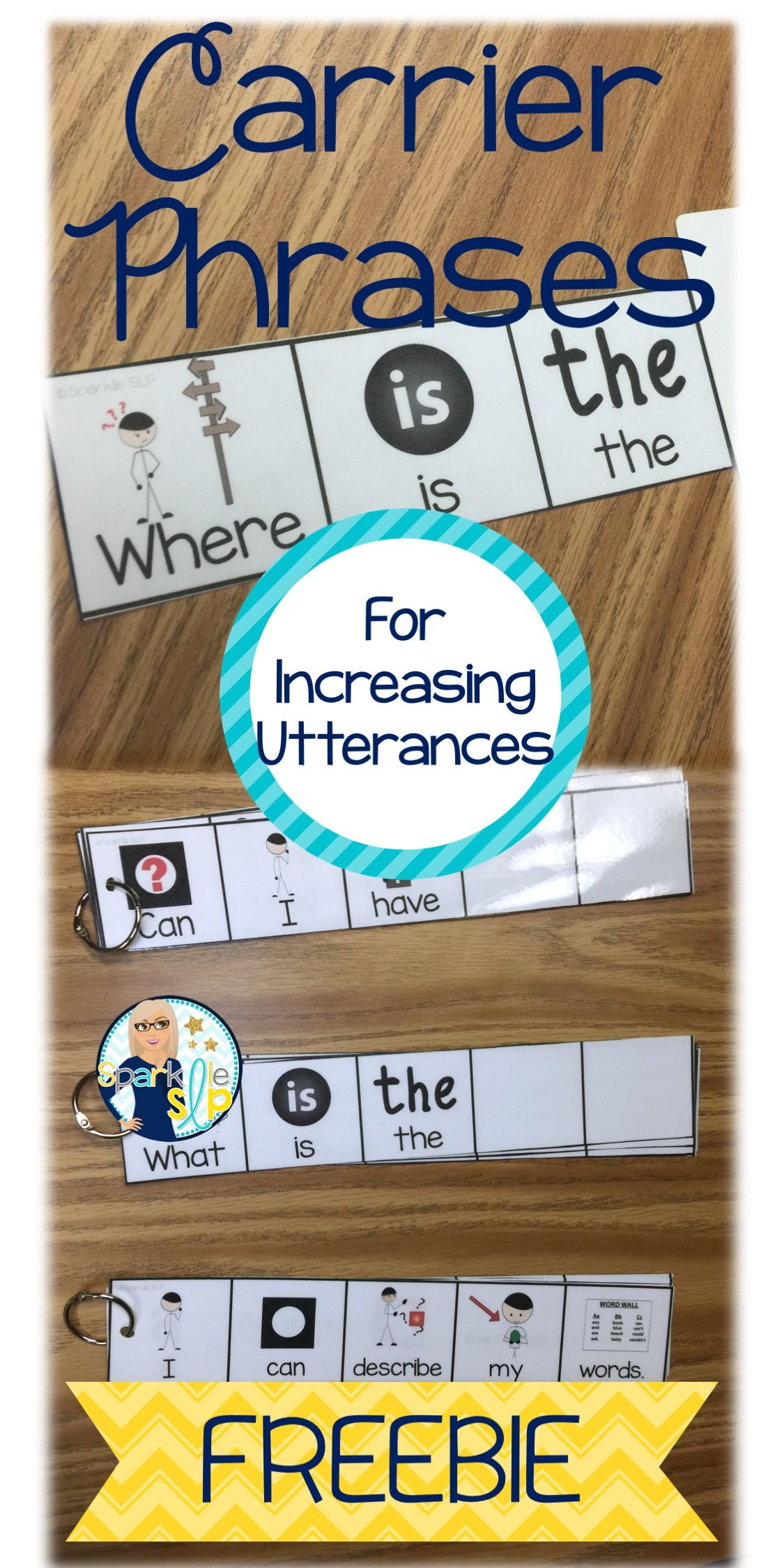 Carrier Phrases For Increasing Utterances