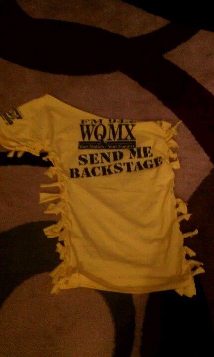 Shirt I made for Jason Aldean concert