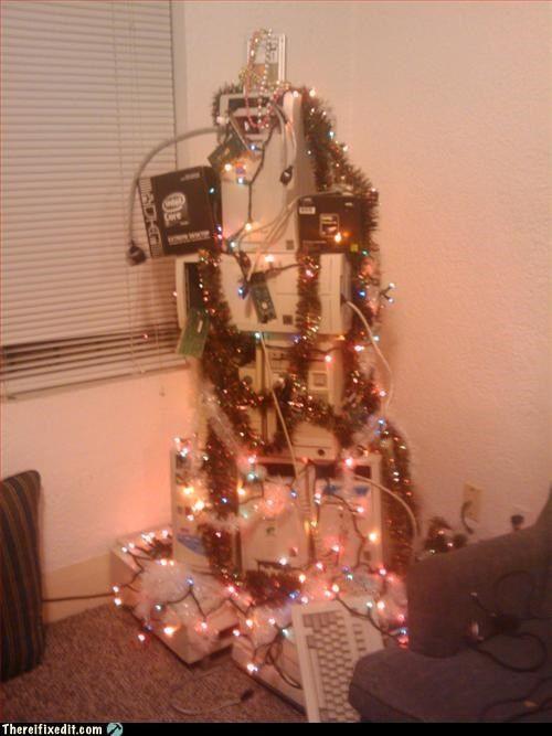 Hey look! A nerds Christmas...