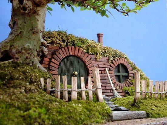 Фото миниатюрных домиков своими руками