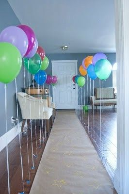 Pin by andrea high on birthday balloons 1st bday pinterest 551 east furniture design super fun blow up pop balloon birthday party invites a tutorial balloon party filmwisefo Image collections