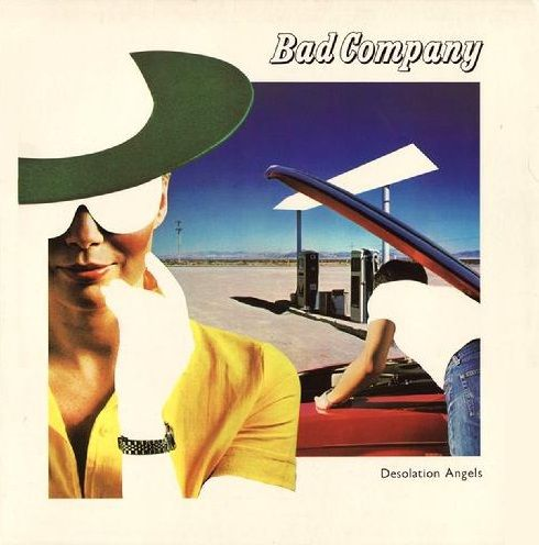 Bad Company Desolation Angels Album Cover Art Album Covers