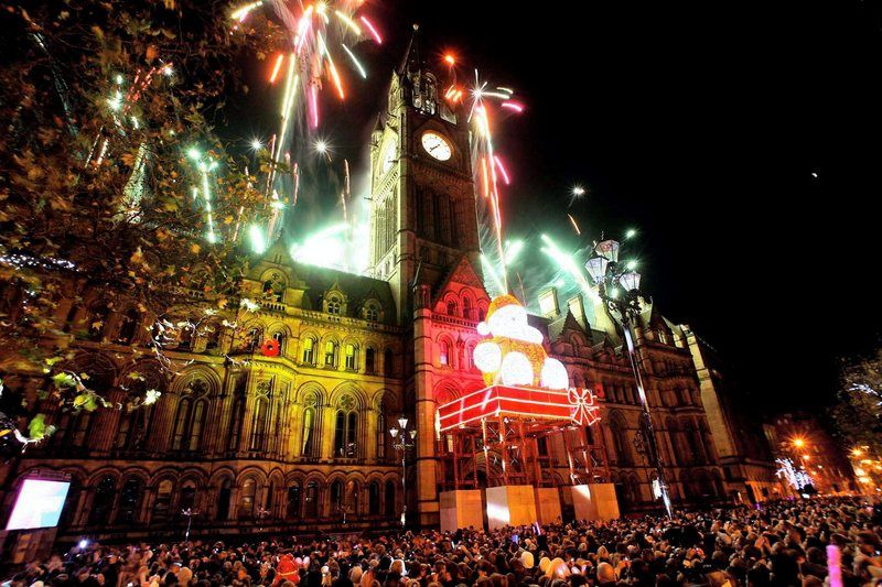 Christmas In Manchester With Images Mexico Christmas Holiday Season Christmas Xmas Lights