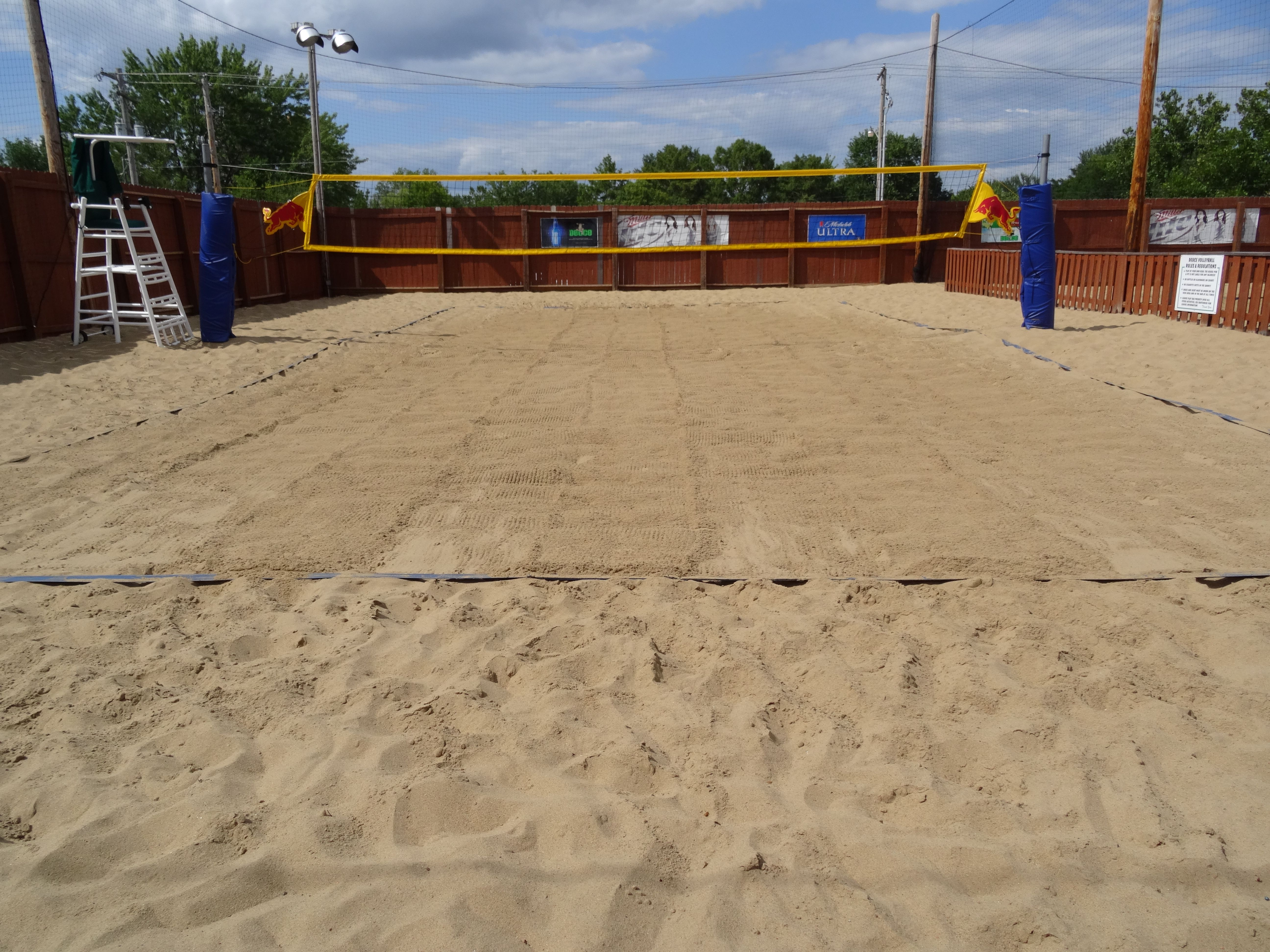 Check Out The Deuce Pub Pit For Sand Volleyball Sports Bar Pub Best Happy Hour