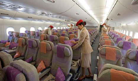The Best Seats In Economy Class On Emirates Airbus A380