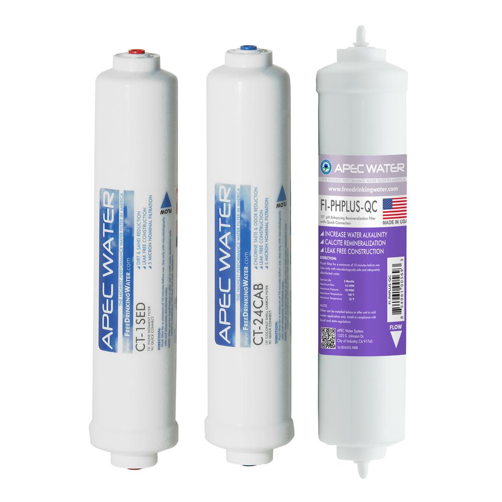 Apec Water Systems Apec Pre Filter Set For Ultimate Ro Ctop Ph