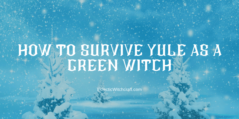 Yule Activities For Green Witches - Eclectic Witchcraft #greenwitchcraft Yule Activities For Green Witches - Eclectic Witchcraft #greenwitchcraft