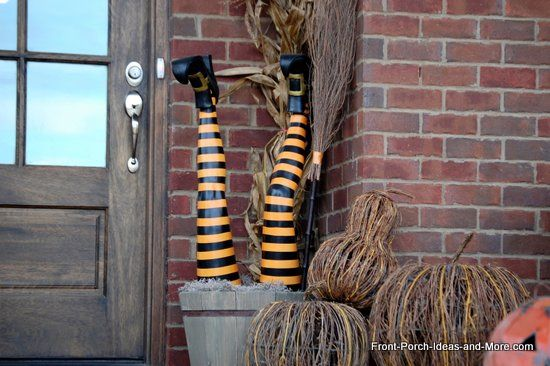 Halloween Porch Decorating Concepts Both Spooky And Enjoyable ...