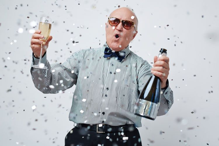 Image result for old people partying | Cool kids, Old people, University of  california irvine