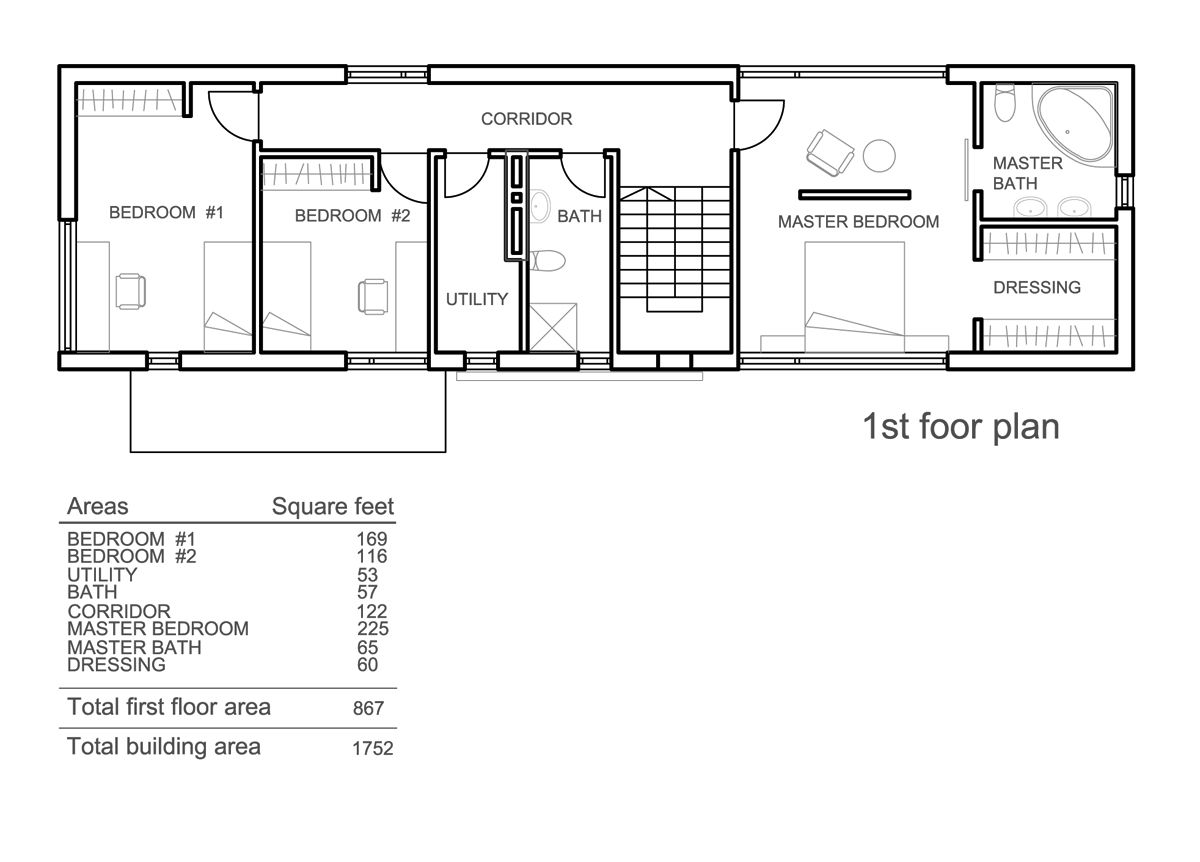 Wonderful Rectangle House Floor Plans For Your Inspiration To .